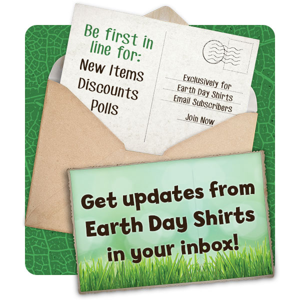Earth Day Shirts Coupons
