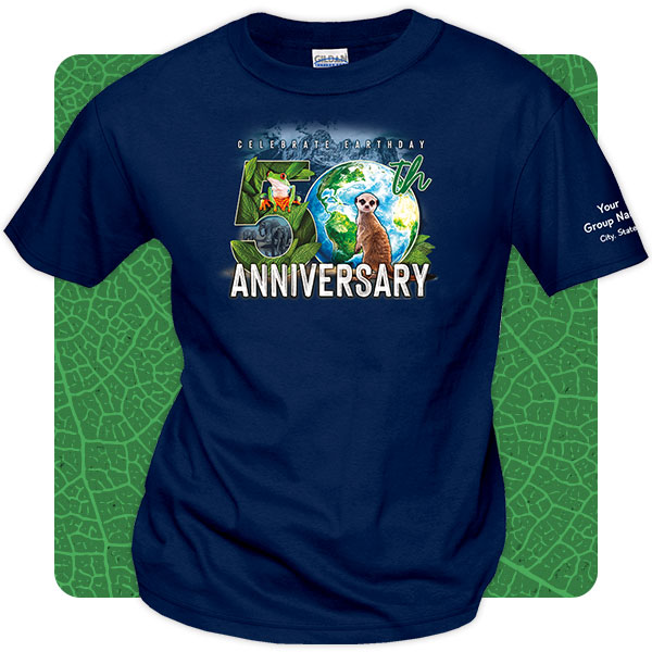 Earth Day 50th Anniversary T-Shirts