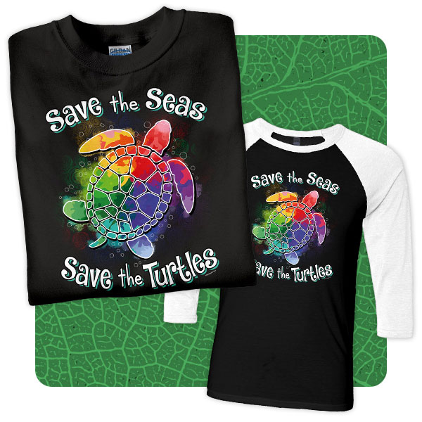 Save the Turtles T-Shirts